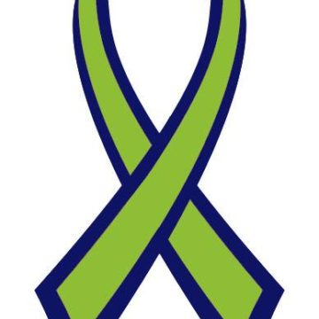 lyme disease awareness ribbon